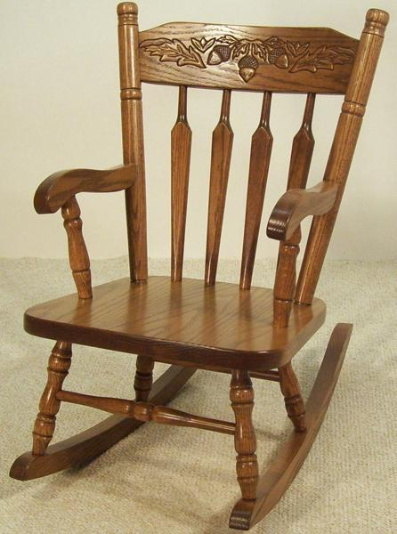 Amish Little Acorn Kids' Rocking Chair