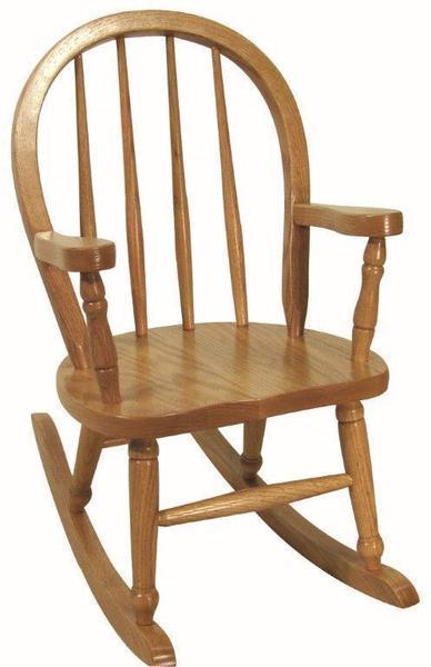 Amish Lancaster Legacy Kids' Rocking Chair