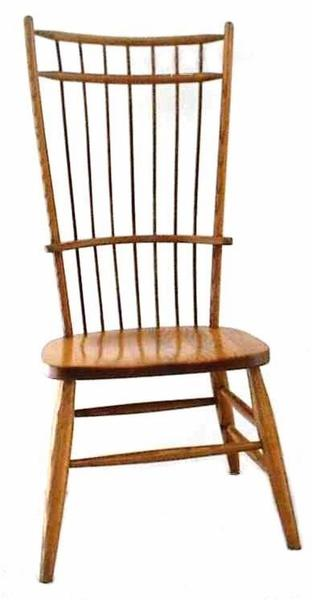 Amish Cage Back Windsor Dining Chair