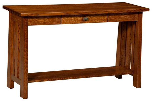 Amish Freemont Mission Open Sofa Table