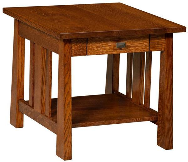 Amish Fremont Mission End Table