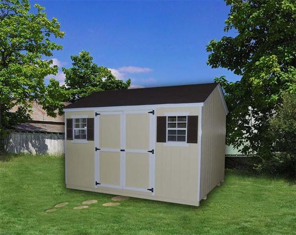 Amish Wood Value Workshop Shed
