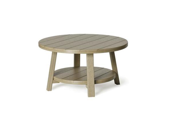 Outdoor Poly Round Conversation Coffee Table