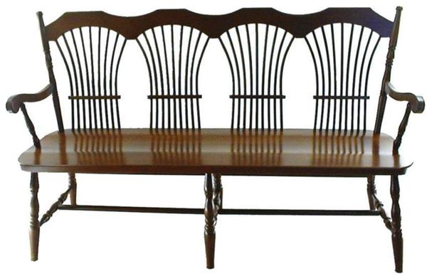 Amish Wheatland Bench