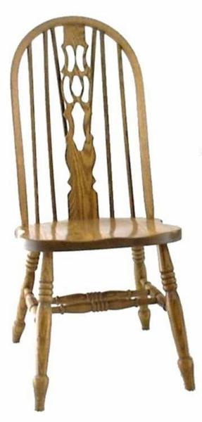 Amish Fiddle Back Windsor Dining Room Chair