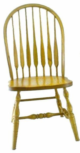 Amish Feather Windsor Dining Room Chair