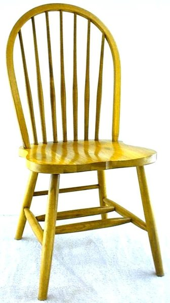 Amish Seven Spindle Windsor Dining Room Chair