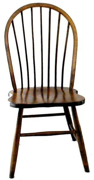 Amish Bent Spindle Windsor Chair