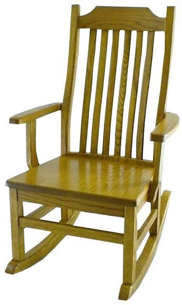 Ohio Mission Rocker From Dutchcrafters Amish Furniture