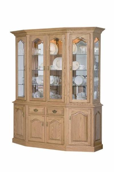 Amish Country Canted Front Hutch