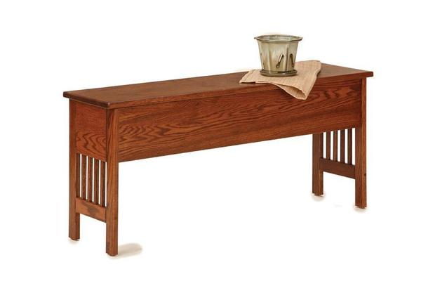 Genial American Mission Small Storage Bench