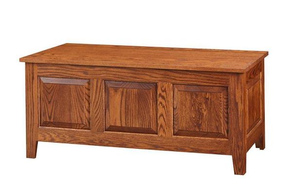 Amish Large Oak Shaker Hope Chest