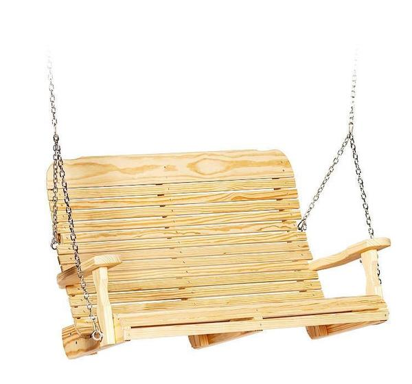 Amish Pine Wood Easy Porch Swing