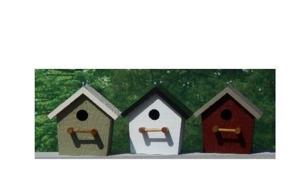 Amish Made Rustic Bird House