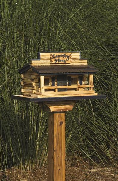 Amish Country Store Garden Bird Feeder