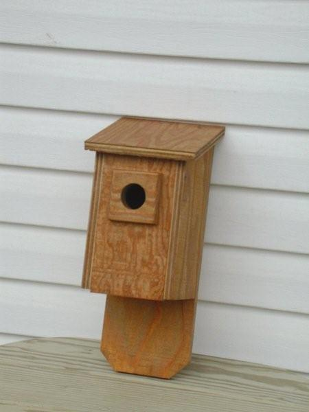 Amish Flip-Front Bluebird Bird House
