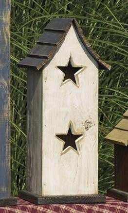 Amish Big Star Garden Bird House