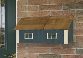 Amish Wall Mount Mailbox