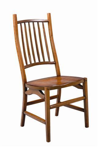 Amish Maryville Cherry Wood Dining Chair