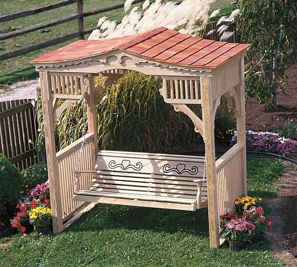 LuxCraft Outdoor Deluxe Victorian Swing Stand