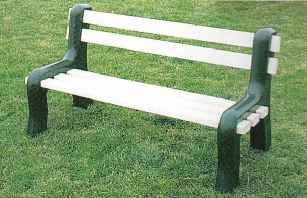 Amish Vinyl Park Bench