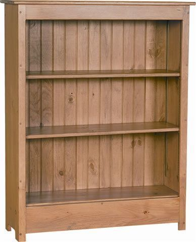 Amish Primitive Sold Pine Wood Bookcase