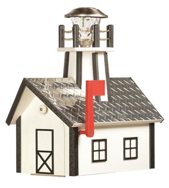 Amish Made Lighthouse Mailbox