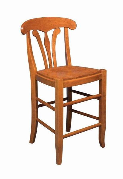 Amish Long Valley Bar Stool