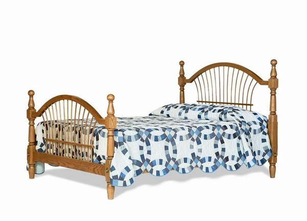 Amish Colonial Wheat Bed