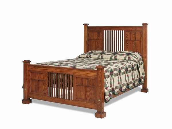 Amish Craftsman American Mission Bed