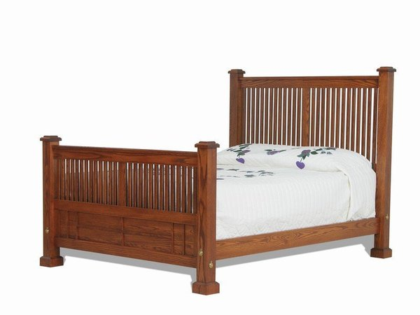 Amish Craftsman Mission Bed