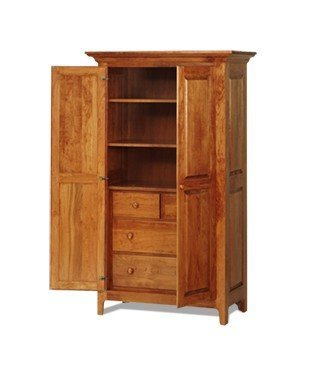 Amish Shaker Chifforobe with Full Doors