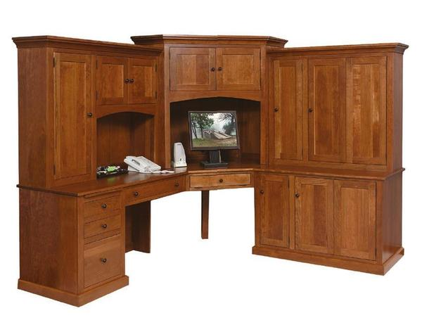 Amish Deluxe Mission Computer Desk
