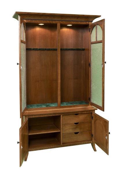 Amish Bunker Hill 10 Gun Cabinet