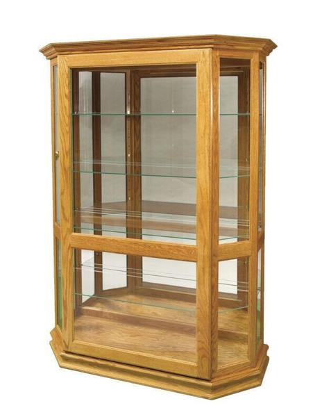 Amish Curio Display Cabinet