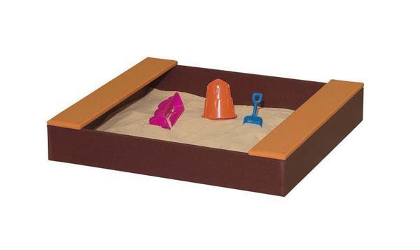 American Made 3' Square Poly Sandbox