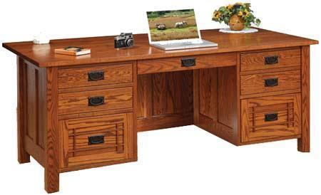 Amish Franklin Mission Executive Desk