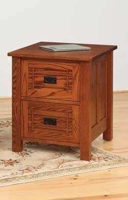 Amish Franklin Mission File Cabinet Available in 3 Sizes