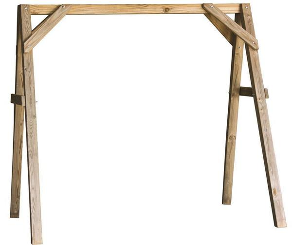 LuxCraft Pine Wood A-Frame Swing Stand