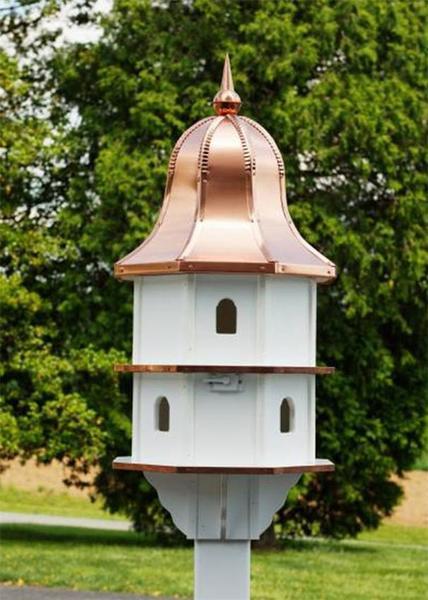 Amish-Made Large Poly Birdhouse