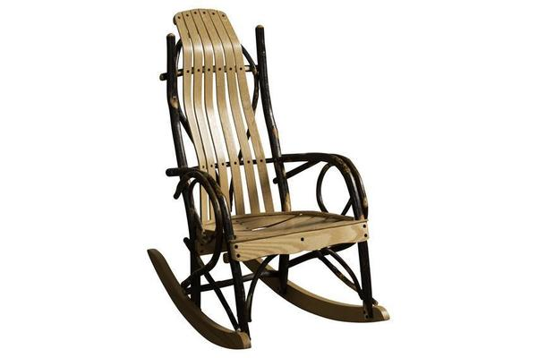 Rustic Furniture - Amish Hickory Child Rocker