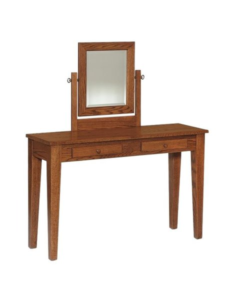Amish Shaker Dressing Table Vanity