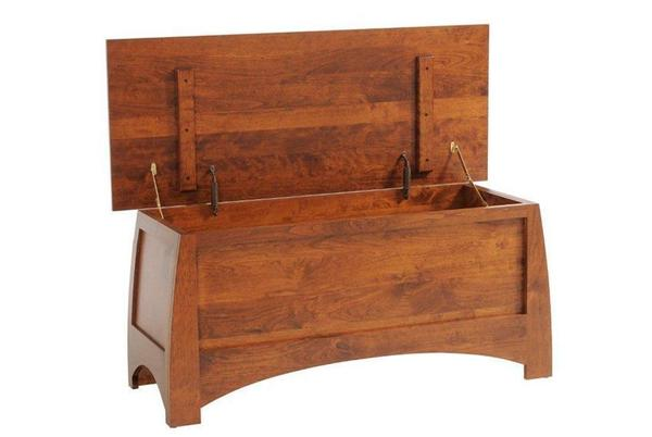 "Amish Bordeaux 49"" Blanket Chest"