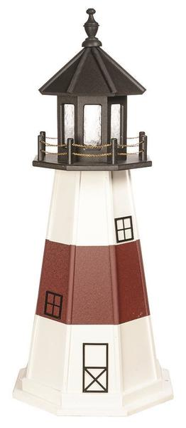 Montauk Wood Garden Lighthouse By Dutchcrafters Amish