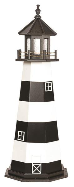 Amish Cape Canaveral Wooden Garden Lighthouse