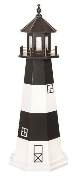 Amish Wooden Garden Lighthouse Fire Island
