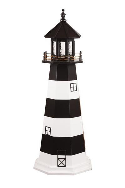 Amish Wooden Garden Lighthouse Bodie Island
