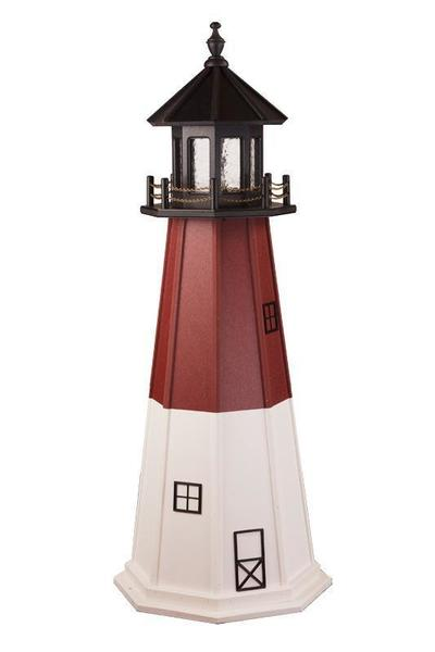 Amish Barnegat Wooden Garden Lighthouse