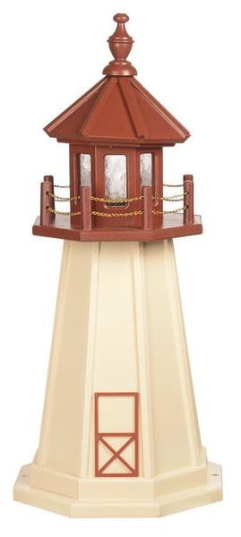 Amish Custom Crafted Garden Lighthouse Cape May