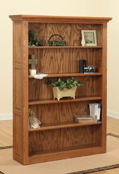 """Amish Traditional 72"""" Bookcase"""